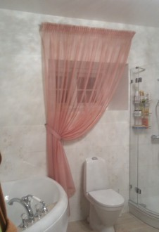 Curtains for bathroom windows